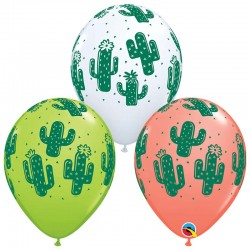"Globos CACTUS 11""-28cm Qualatex"