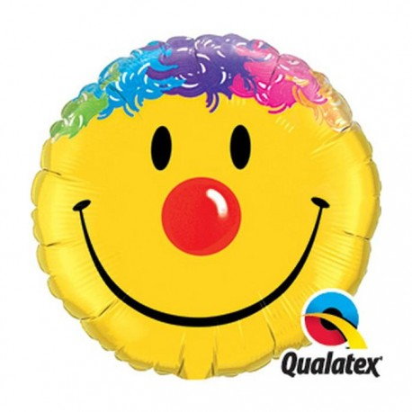 "Globo Sonrisa 36""-91cm Qualatex de foil"