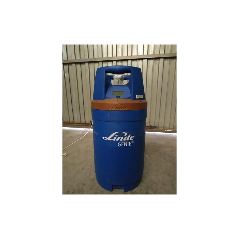 Botella helio alquiler 3,6m3 + válvula látex