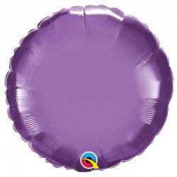 "Globo Redondo chrome de foil 18""-45cm Qualatex"