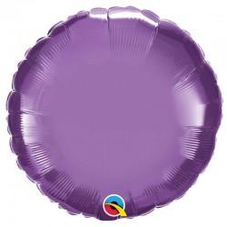 "Globo Redondo CHROME foil 18""-45cm Qualatex"