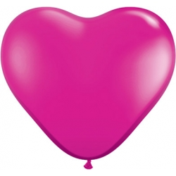 "Globos Corazón 6""-15cm Fashion Qualatex"