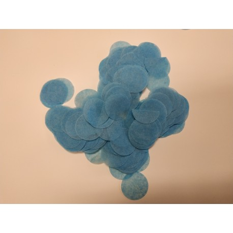Pack 10 bolsas confeti 10gr AZUL