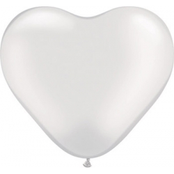 """Globos Corazón 6""""-15cm..."""