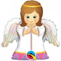 Globo Angelito niña foil
