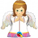 "Globo Angelito niña 14""-35cm foil Qualatex"