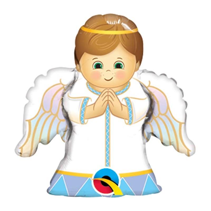 Globo Angelito niño foil