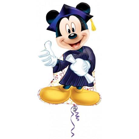 Globo Mickey Graduado Foil
