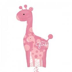 Globo Es una niña jirafa foil