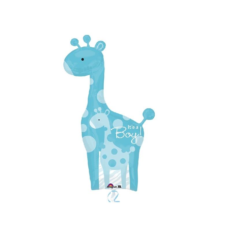 Globo Es un niño jirafa foil
