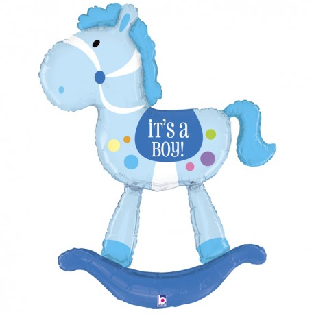 Globo It's a boy Caballo foil TG