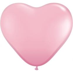 "Globos Corazón 15""-38cm Estándar Qualatex (50)"