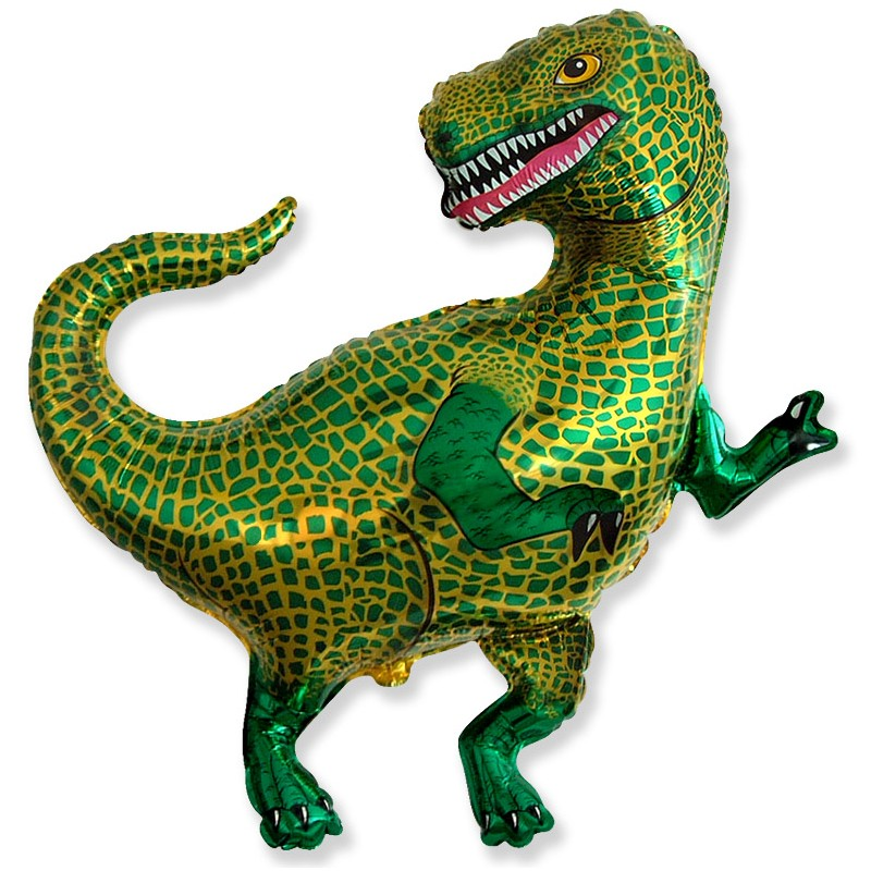 Globo Tiranosaurio Rex foil