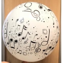 Globos notas musicales 3'-90cm TG