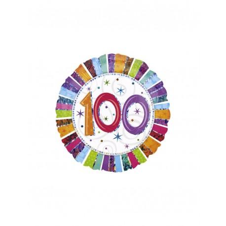 Globo Feliz 100 Aniversario Foil