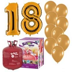 Pack globos 18 aniversario...