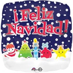 Globo Feliz Navidad Amigos