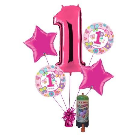 Pack para primer cumpleaños niña