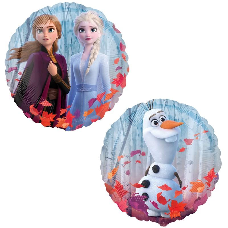 Globo Frozen 2 redondo foil