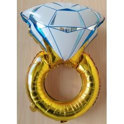 Globo anillo de bodas de...