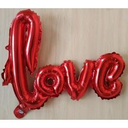 GLOBO LETRAS LOVE ROJO...