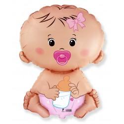 Globo Bebé nena foil TG