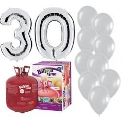 Pack globos 30 aniversario...