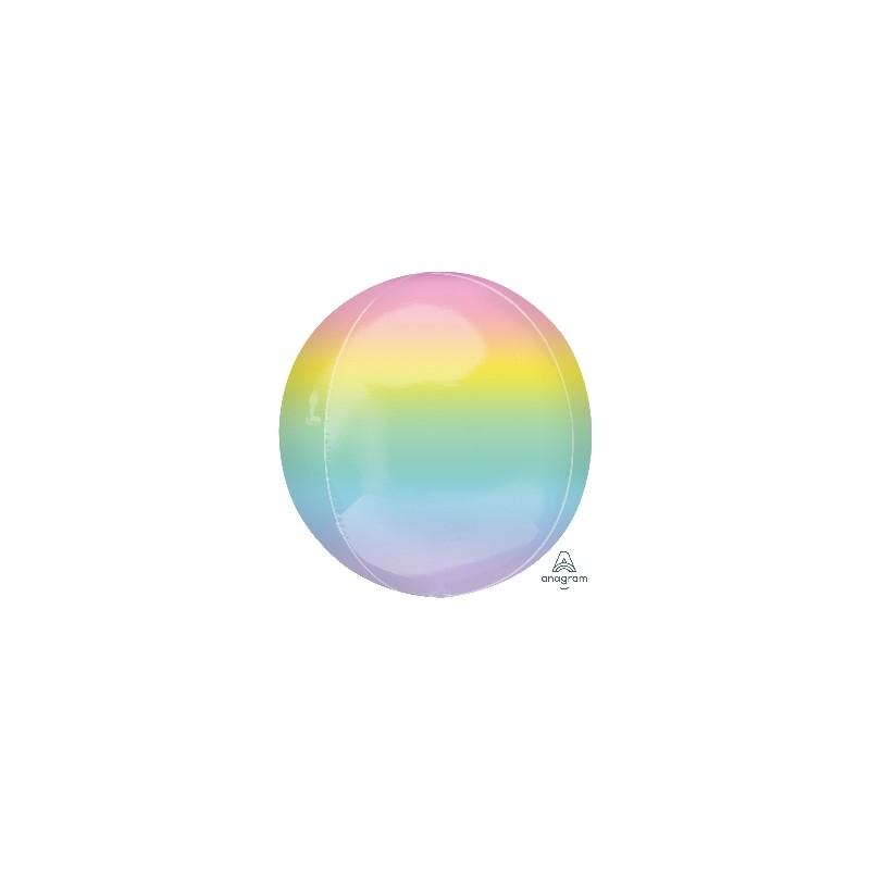 Globo Orbz Ombre pastel 38cm