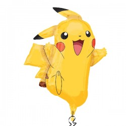 Globo Pikachu forma Foil