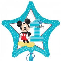 Globo primer cumple Mickey...