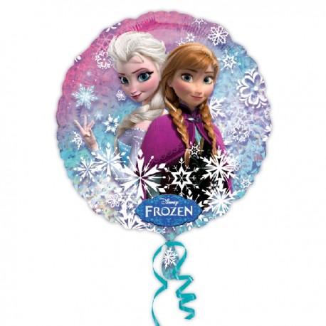 Globo Frozen redondo foil