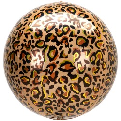 Globo Orbz Animal Leopardo 38*40cm