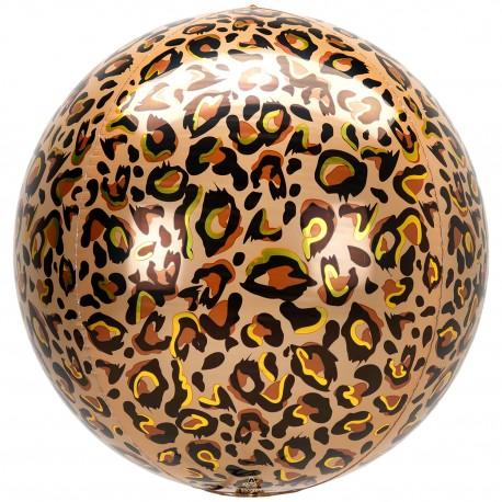 Globo Orbz Animal Leopardo 38*40cm