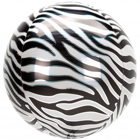 Globo Orbz Animal Cebra 38*40cm
