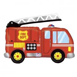 Globo Camión de bomberos de foil TG