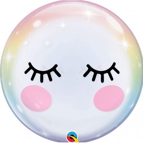 Bubble Burbuja pestañas UNICORNIO