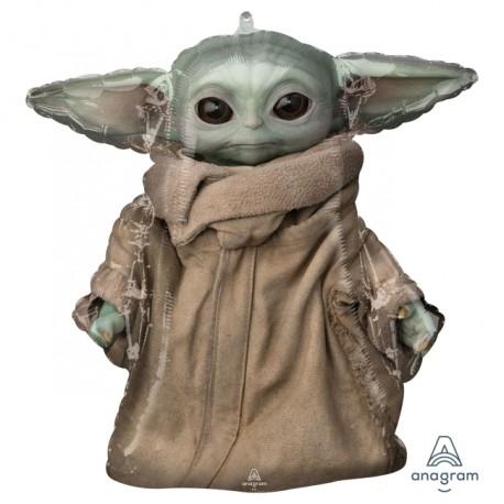 Globo Mandalorian baby Yoda foil