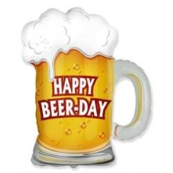 Globo jarra cerveza Happy...