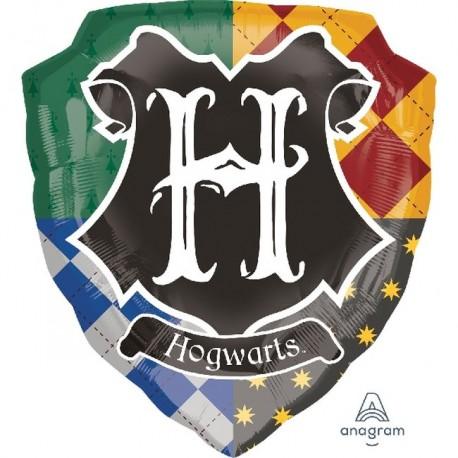Globo escudo Hogwarts Harry Potter foil
