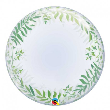 Bubble Burbuja Elegant Greenery Qualatex