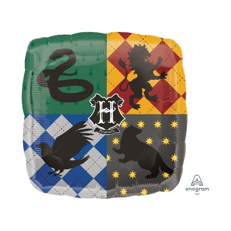 Globo Hogwarts Harry Potter cuadrado