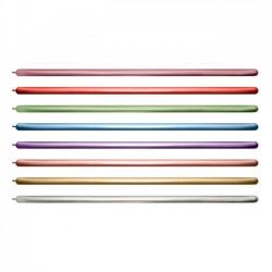 Globos modelar 260 Surtido Reflex cromado (50)