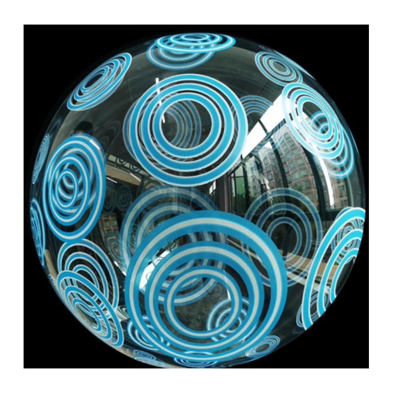 Burbuja círculos azules TG