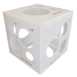 Medidor para globos blanco TG