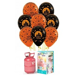 Pack globos Halloween látex pequeño