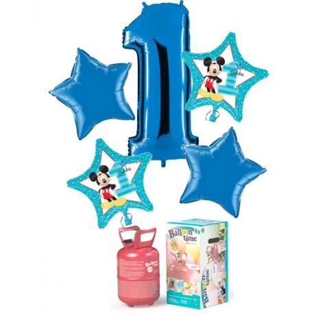 Pack de globos 1ER CUMPLE MICKEY