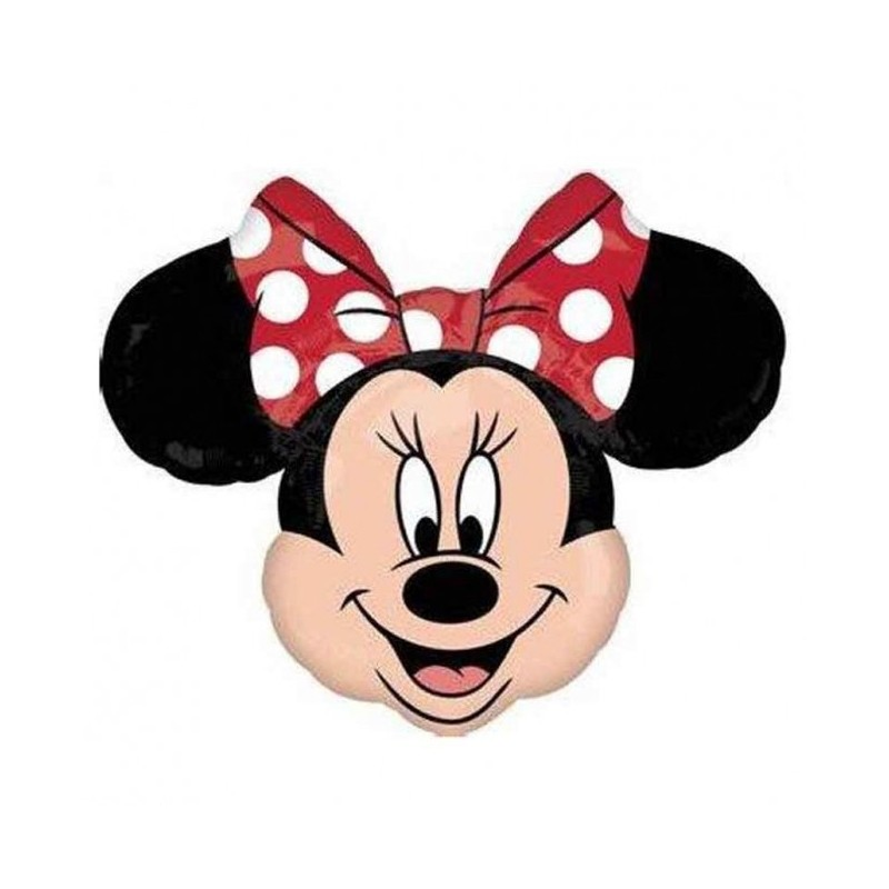 Globo Minnie lazo rojo Foil