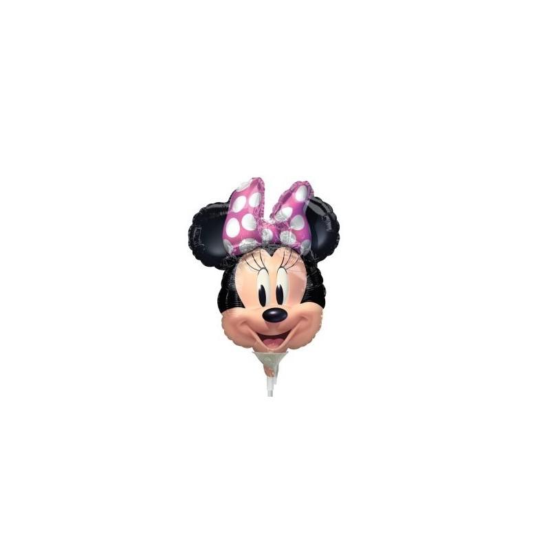 "Globo Minnie 9""-23cm FOIL"