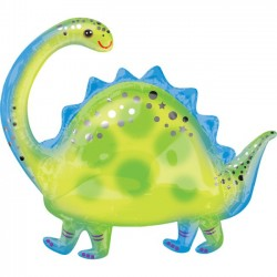 Globo Brontosaurus de Foil