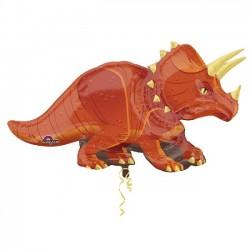 Globo Triceratops de Foil